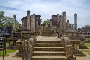 Polonnaruwa ruines