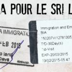 Comment obtenir son visa pour le Sri Lanka